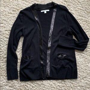 Black dressy cardigan